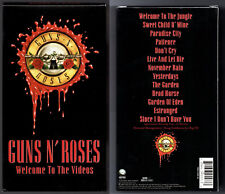 RARE ERROR Guns N Roses Welcome to the Videos VHS WRONG LABEL MISPRINT Estranged