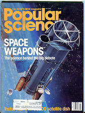 Popular Science Magazine July 1984 Space Weapons EX 032116jhe