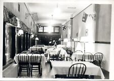 SOLDIERS DINING ROOM cWW2 MILITARY PHOTOGRAPH