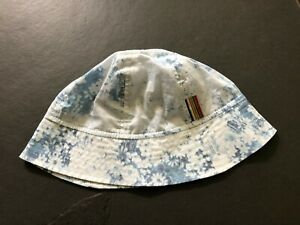 Paul Smith Ladies Hat - Light Blue floral - Size M
