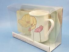 Poppy Fine China Mug + Coaster + Scatter Tray Set