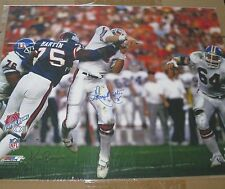 George Martin Signed Tackling 16x20 Photo Photographer Ken Regan Steiner
