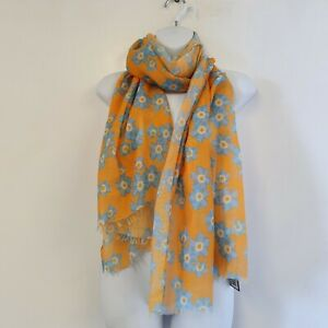 St Ann's Hospice Forget-Me-Not Print Scarf - 2 Colours