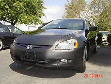 Colgan Front End Mask Bra 2pc. Fits Honda Accord Coupe W/O License 03-2005