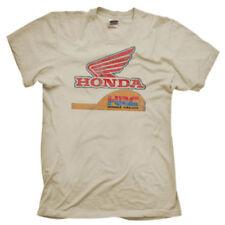 Camisetas de hombre marrón Gildan