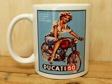 300ml COFFEE MUG, DUCATI 60 MOTORCYCLE