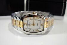 Croton Men's Two tone stainless steel Quartz watch White dial with gold hands