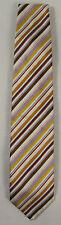 JOOP! Seidenkrawatte, Designer Krawatte Tie 100% Seide mehrfarbig gestreift