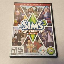 The Sims 3 University Life Expansion Pack PC/MAC Game DVD-ROM Complete Key