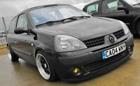 RENAULT CLIO 1.2 1.4 1.5 1.6 2.0 YELLOW FOG LIGHT TINT 172 182 CUP TROPHY