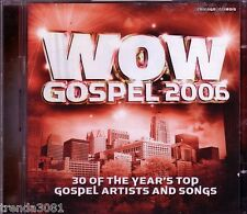 WOW Gospel 2006 2 CD Box Classic Christian Rock Pop ANNOINTED MARY MARY J MOSS