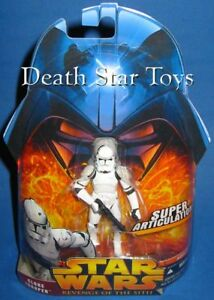 Star Wars Revenge of the Sith 41 Clone Trooper Super Articulation Variant AOTC