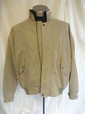 """Mens Coat Jacket - GANT, size XL 54"""" chest beige anorak cotton mix - 8253"""