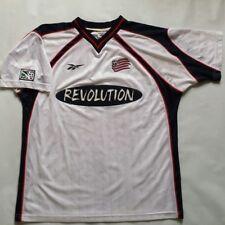 Vintage MLS New England Revolution Reebok Jersey Size L
