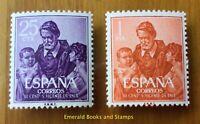 EBS Spain España 1960 St Vincent de Paul 1191-1192 MNH**