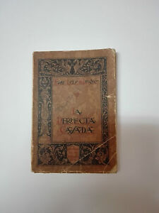 Antique Book Of Fray Luis Of Leon The Perfect Married Year 1939