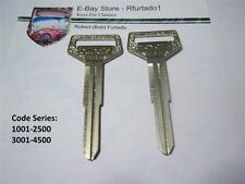 Key Blank for Vintage Toyota 1969-81  Primary Key  (TR25)  See Code Series