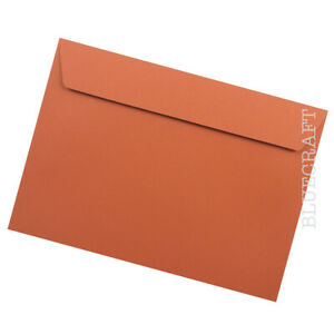40 pack x C5 Marmalade Orange Luxury 120gsm Envelopes - 162 x 229mm - 6 x 9 inch