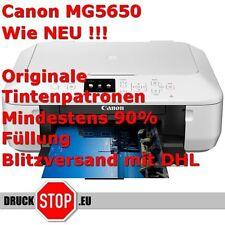 Canon PIXMA MG5650 Tintenstrahl Drucker Wlan Hersteller überprüfte B-Ware weiss