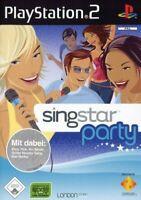 PS2 / Sony Playstation 2 Spiel - SingStar Party mit OVP