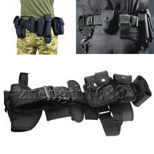Police  Security Guard Law Enforcement Equipment Duty Belt Rig Gear Nylon zh