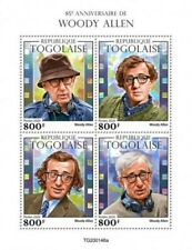 Togo - 2020 Filmmaker Woody Allen - 4 Stamp Sheet - TG200148a