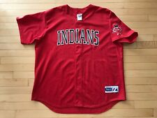 RARE Mens Majestic Indianpolis Indians MiLB Baseball Jersey Size XXL Mens Red