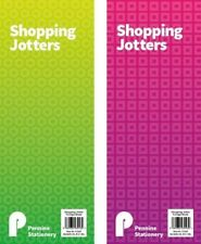 Shopping Jotters Notepad Memo Note Pad Shopping List Fridge Kitchen Portable UK