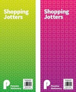 Shopping Jotters Notepad Memo Note Pad Shopping List Fridge Kitchen Portable UK