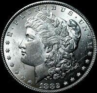 1882 Morgan Silver Dollar UNC  MS +++ 64 ?? A46-514