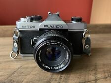 FUJICA ST705 35mm Film SLR Manual Camera with FUJINON 55mm F/2.2 Lens