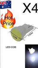 4pcs White Car T10 W5W Side Light Lamp Marker Lamp Ceramics 1 COB SMD LED A143,