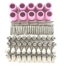 80PCS SG-55 AG60 WSD60 Air Plasma Cutter Cutting Torch Tip Nozzles Cups Hot Sell