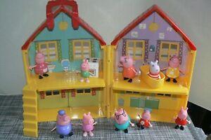 *HUGE* Peppa Pig Toys LOT: House, Furniture, Figures)