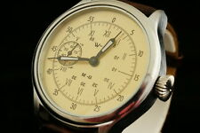Vintage military style German & CCCP WW2 WAR2 pilot's watch WSS