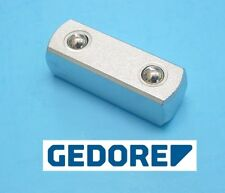 "Gedore Germany 1994 Square Plug Coupler 1/2"" drive Female Square Drive Ratchet"