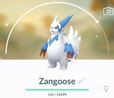 Pokemon go 💥💥shiny Zangoose💥💥 !!