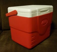 Coleman 9 QT Cooler, Red/White, Model 6209 - Excellent Condition!