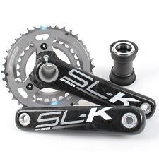 FSA SLK Carbon Fiber BB30/PF30 Mountain Bike Crankset w/PF30 175mm 10Speed 39/27