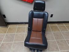 08 09 FORD EXPEDITION LEATHER 2ND ROW PASSENGER CAPTAIN CHAIR SEAT SEATS OEM
