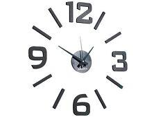 Horloge murale avec chiffres autocollants indépendants