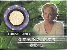 Stargate SG1 Season 10 Costume Card C53 Amanda Tapping as Lt. Colonel Carter