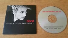 Blood – The New Face Of British Soul (4 Track PROMO CD 1999)