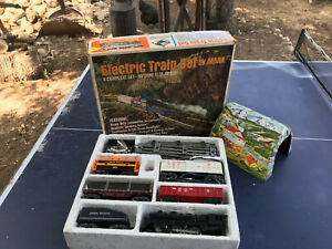 MARX TRAIN SET Complete! Cleaned/Lubricated! TESTED! WATCH VIDEO! Christmas