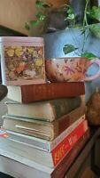 Bundle of Brambly Hedge Metal Tin Canister Autumn Story and a Tracy Porter Mug