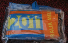 2011 Men's Australian Tennis Open Towel - Mint Condition with plastic cover.