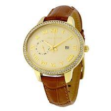 MICHAEL KORS Damen Armbanduhr Uhr Damenuhr Gelb Gold MK2428 Whitley Champagne