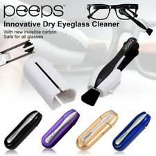 5 Colors Pro Eyeglass Sunglass All In One Glasses Cleaner Peeps Lens Brush Kits
