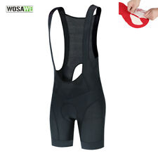 Mens Cycling Bib Shorts 3D Gel Padded Elastic Breathable Quick Dry MTB Road Bike