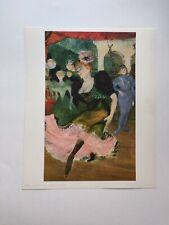 Toulouse-Lautrec, Marcelle Lender (Detail)  Braun et Cie Lithograph
